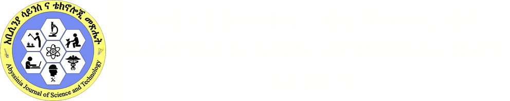 Abyssinia Journal of Science and Technology (AJST)