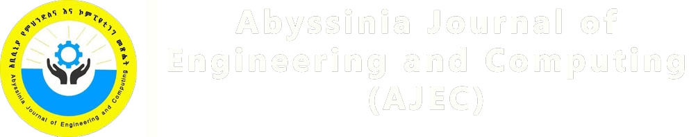 Abyssinia Journal of Engineering and Computing Technology (AJECT)